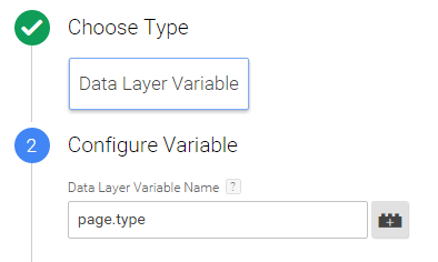 GTM data layer variable exmaple